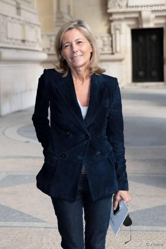 Depuis août 1991, Claire Chazal présente les journaux de 13 heures et de 20 heures le week-end sur TF1.
