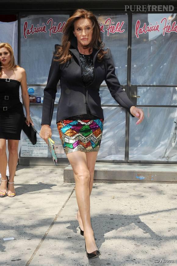 Caitlyn Jenner, contrariée par sa voix encore trop masculine.
