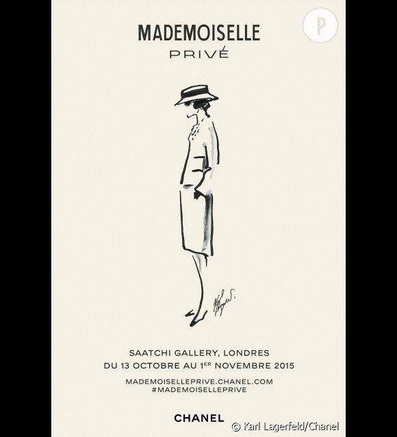 """""""Mademoiselle Privé"""" à la Saatchi Gallery de Londres, du 13 octobre au 1er novembre 2015."""