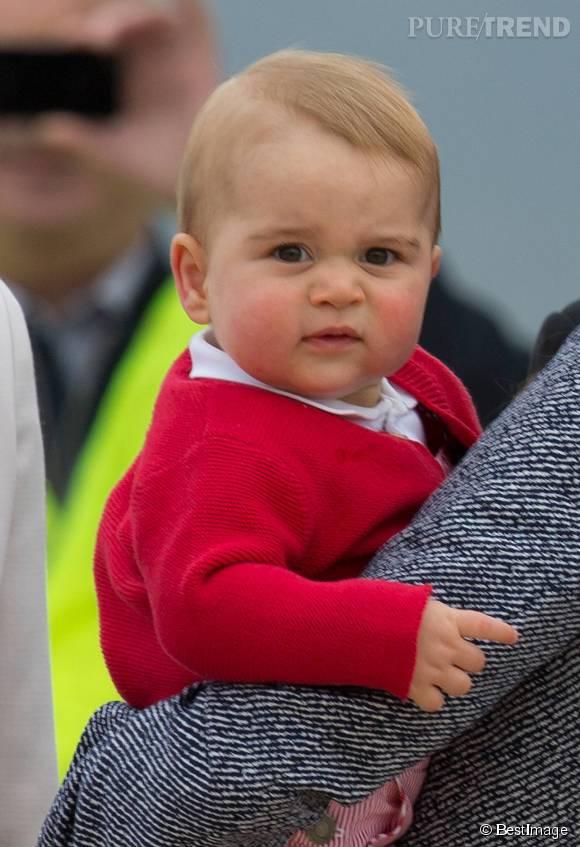 Prince George : une moue boudeuse déjà légendaire !