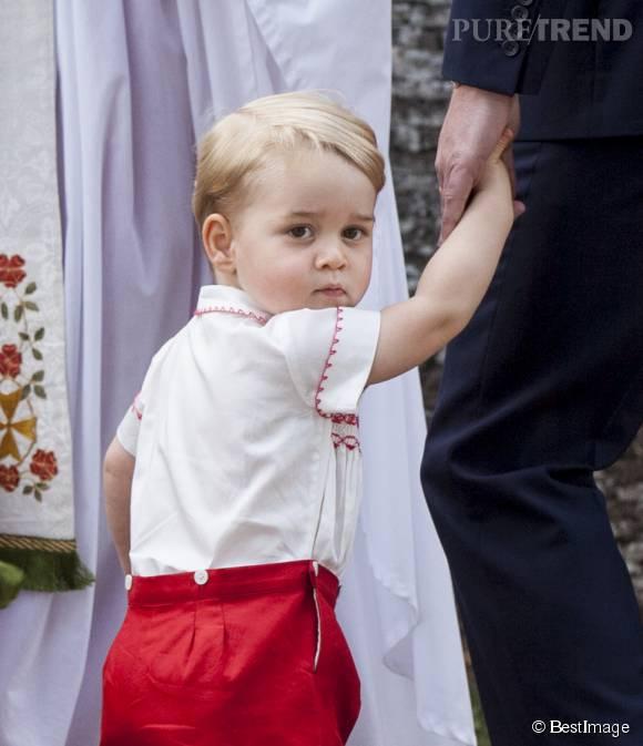 Ce 22 juillet 2015, le Prince George fête ses deux ans. C'est un grand !