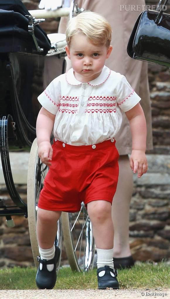 Détermination et caractère : bébé George est un sacré petit gaillard !