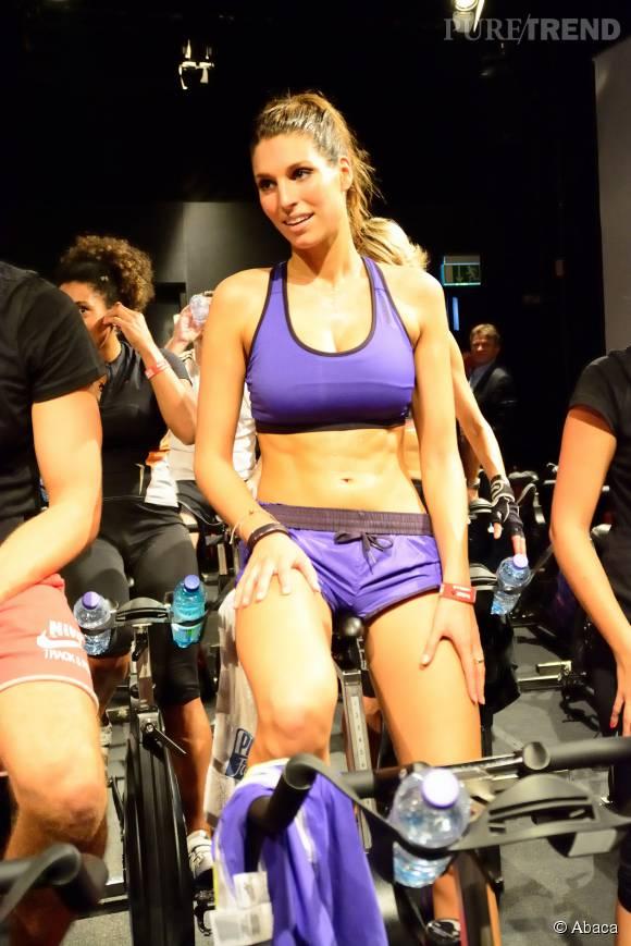 Laury Thilleman, l'ex miss France sexy et sportive nous en met plein la vue !