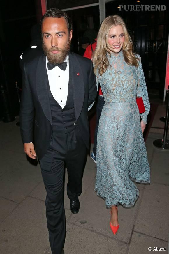 James Middleton et sa compagne Donna Air.