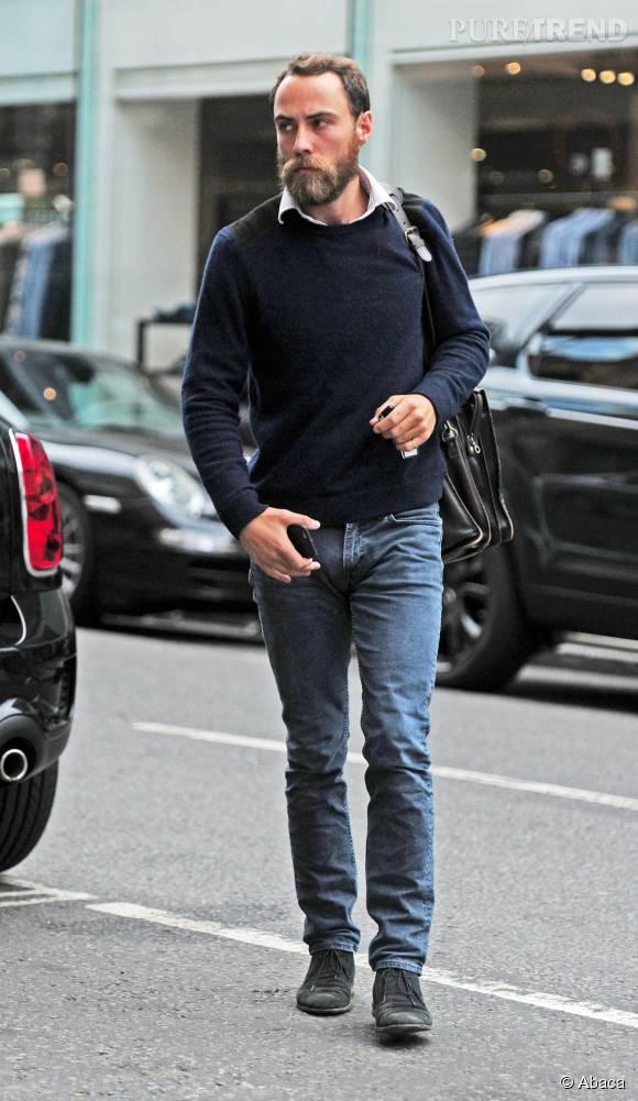 James Middleton prend soin de son look, un bon point quand on veut devenir mannequin !