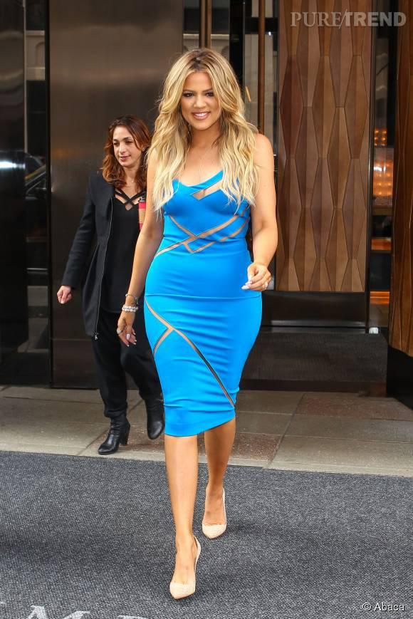 Khloe Kardashian vivra-t-elle une grossesse aussi médiatique que sa soeur Kim ?