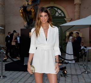 Bianca Brandolini d'Adda au gala de la fondation de Leonardo DiCaprio, le 22 juillet 2015 à Saint-Tropez.