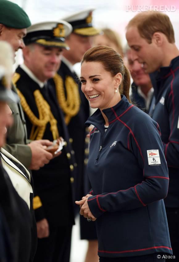 Kate Middleton et le prince William se sont rendus à Portsmouth pour la coupe de l'America