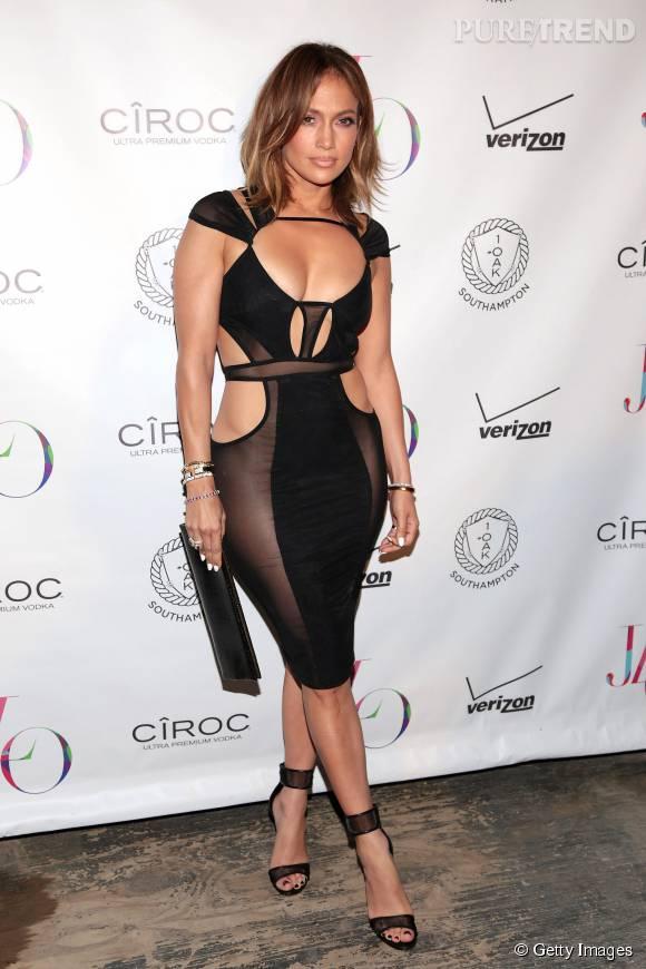 Jennifer Lopez fête son anniversaire à Southampton à New York le 25 juillet 2015.
