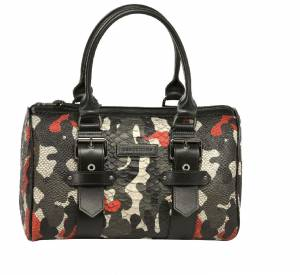 """Sac """"Gloucester Camouflage"""" collection Kate Moss pour Longchamp, 630€."""