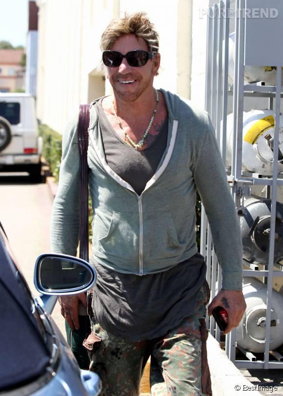 Mickey Rourke à Beverly Hills le 25 juillet 2015.