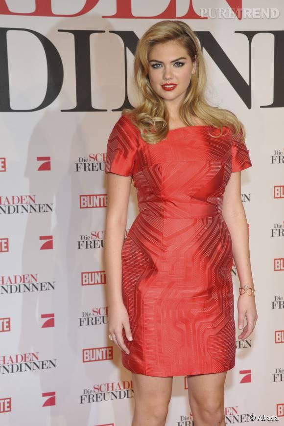 Kate Upton, une bombe élue femme la plus sexy de 2014 par  GQ Magazine.