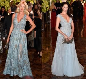 Victoria Silvstedt vs Frédérique Bel : la robe de princesse transparente