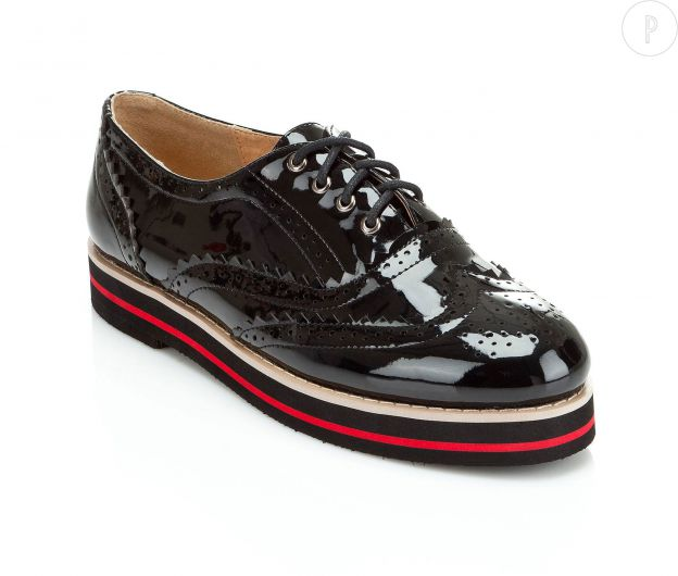 Derbies vernis 3SUISSES Collection, 39 euros.