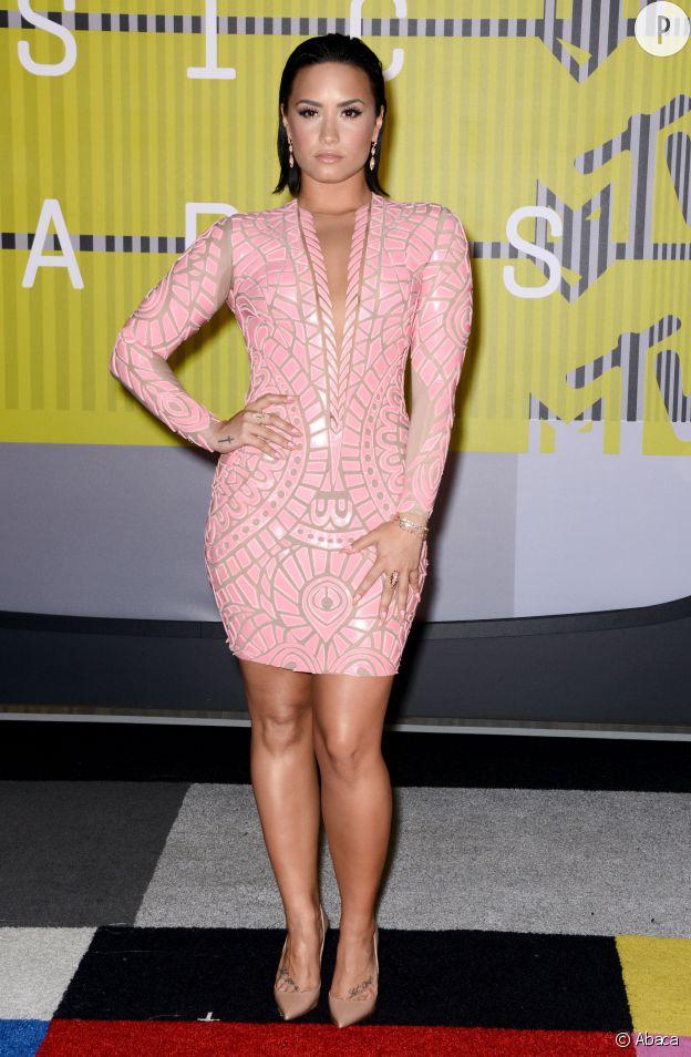 Demi Lovato aux MTV VMA.