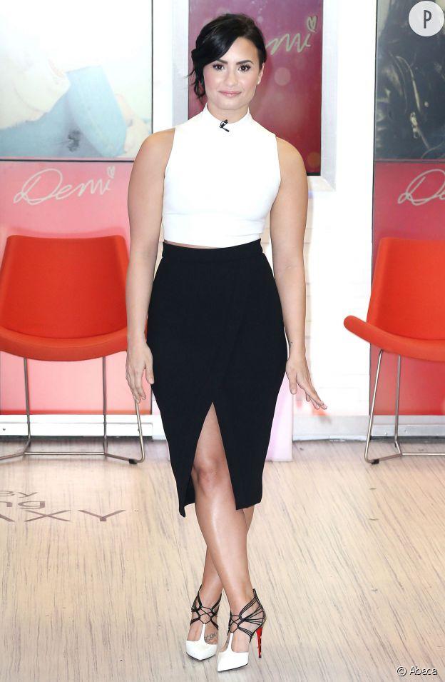 Demi Lovato, chic et sexy.