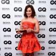 Emilia Clarke en Oscar de la Renta aux GQ Men of the year awards le 8 septembre 2015.