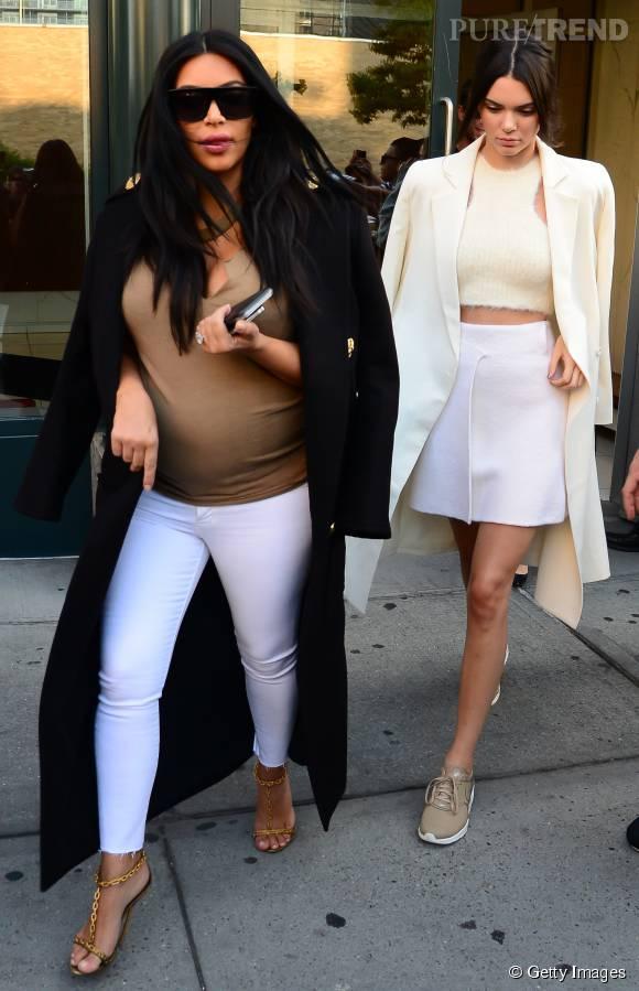 KardashianJean Et Son MoulantPleins Blanc Top Sur Feux Kim BQhxtsrdC