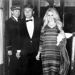 Brigitte Bardot et son ex-mari Gunter Sachs
