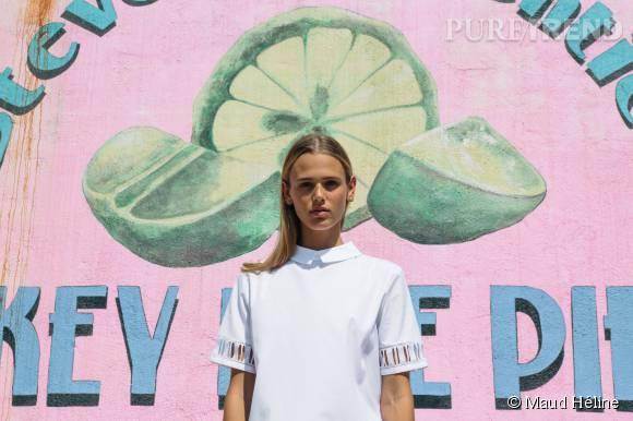 Les chemises blanches de Maud Héline, créatrice française à Brooklyn.