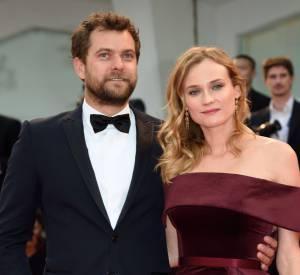 Joshua Jackson et Diane Kruger à la Mostra de Venise en septembre 2015.