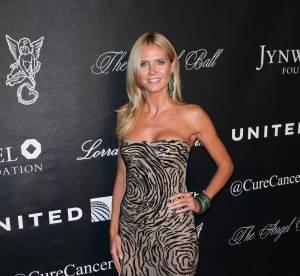 Heidi Klum : sauvage et sensuelle pour le gala Angel Ball
