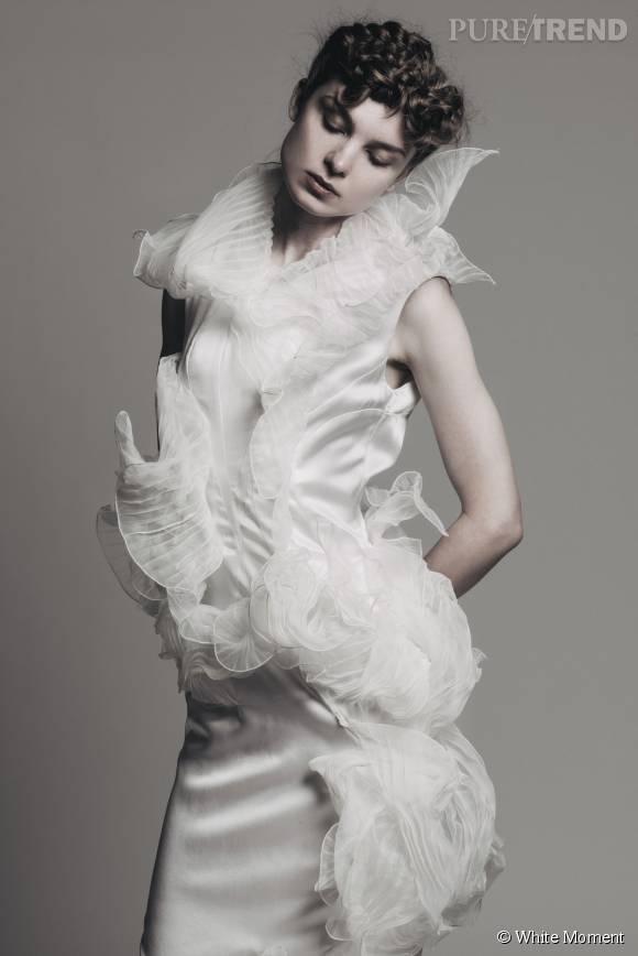 Les robes s'habillent de structures à modéliser selon ses envies.