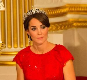 Kate Middleton, belle à couper le souffle en robe de soirée et diadème