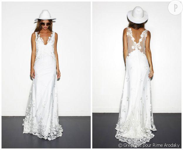 Robe mariage de Rime Arodaky