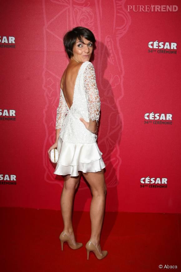Florence Foresti va décoiffer la 41ème cérémonie des César, le 26 février 2016.