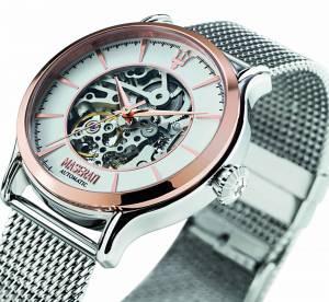 La nouvelle montre squelette Epoca de Maserati