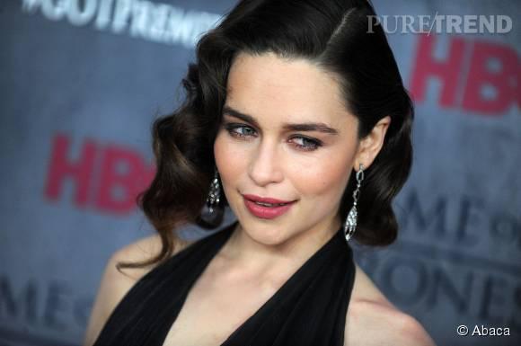Emilia Clarke sublime en toutes circonstances.