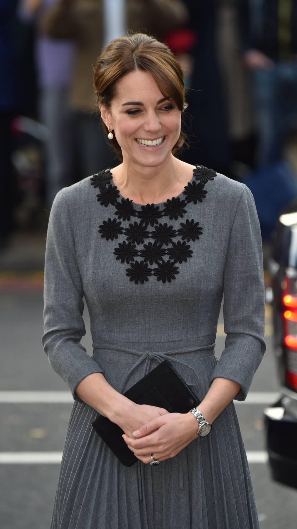 16de861c167 Kate Middleton   une mine radieuse ce mercredi 27 octobre 2015.