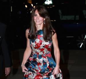 Kate Middleton : originale dans une robe bariolée... Mais à deux doigts du flop