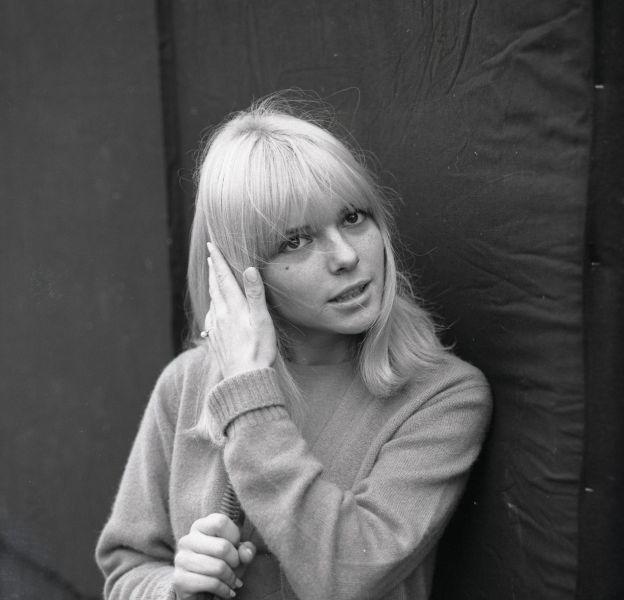 France Gall au début de sa carrière, en 1965. Aujourd'hui, la chanteuse ne souhaite plus remonter sur scène.