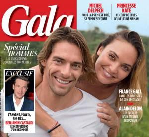 Le couple pose complice en couverture de Gala.
