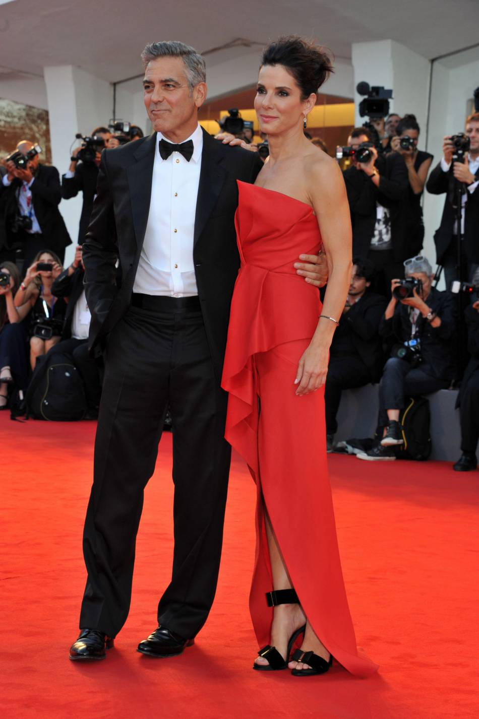 Sandra Bullock et George Clooney, des amis de longues date.