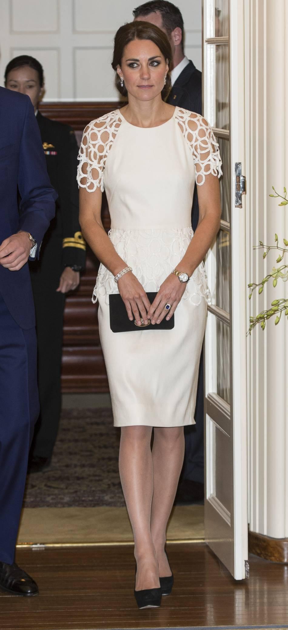 Kate Middleton : pour l'amour du crochet.
