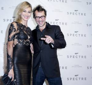 Elle est venue accompagnée de son mari Julien Ansault.