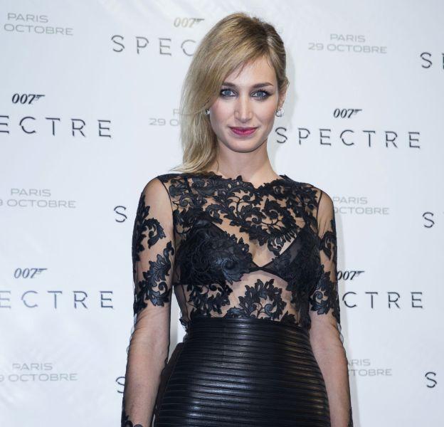 """Pauline Lefèvre à l'avant-première de """"007 Spectre"""" le 29 octobre 2015 au Grand Rex à Paris."""