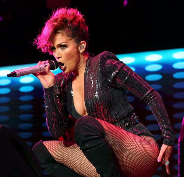 Jennifer Lopez, toujours plus provocante.