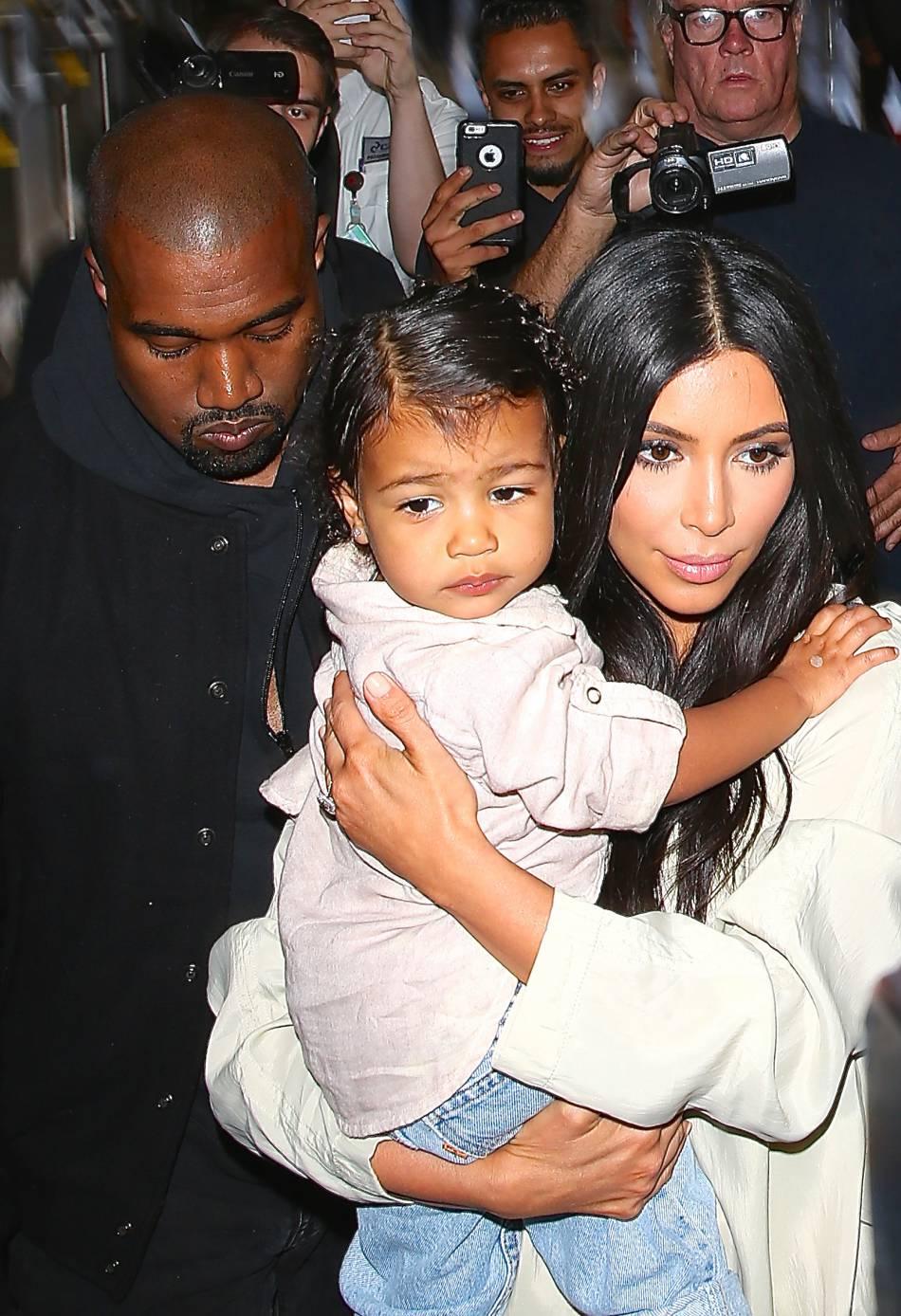 North West, petite fille gâtée par ses parents, Kim Kardashian et Kanye West.