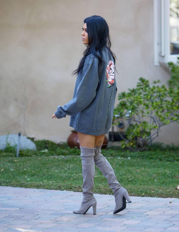 Kourtney Kardashian fait des envieuses...