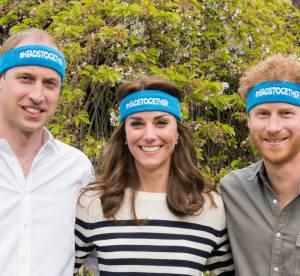 Kate Middleton : jolie marinière et fous rires avec William et Harry