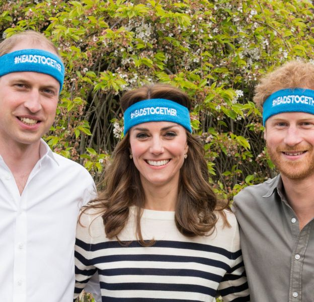 Prince William, Kate Middleton et prince Harry : un trio de choc pour la bonne cause.