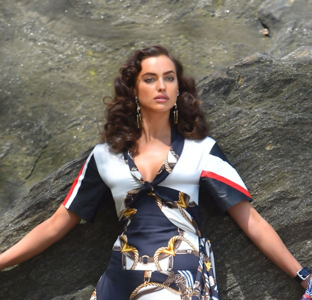 Irina Shayk, canon pour son nouveau shooting pour Vogue.