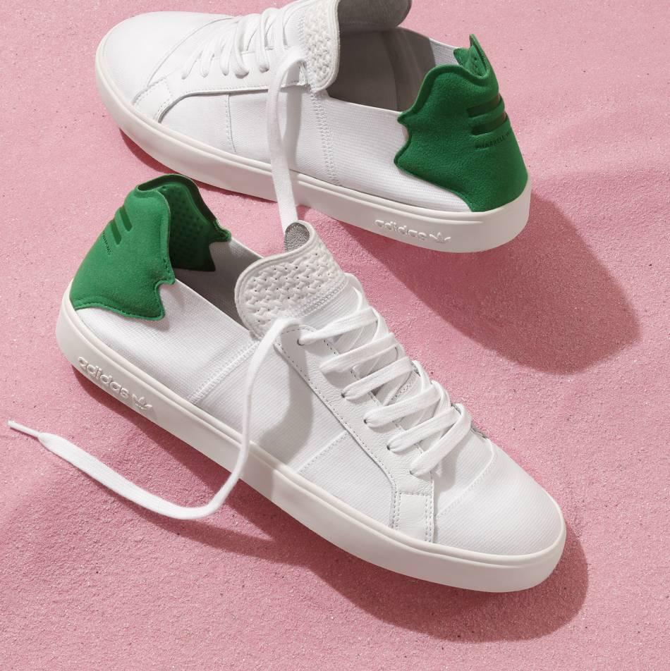 Les nouvelles sneakers Adidas créées par Pharrell Williams sont parfaitement tendance.