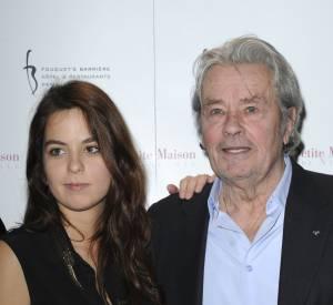 Anouchka Delon et son célèbre père sont aujourd'hui très proches.