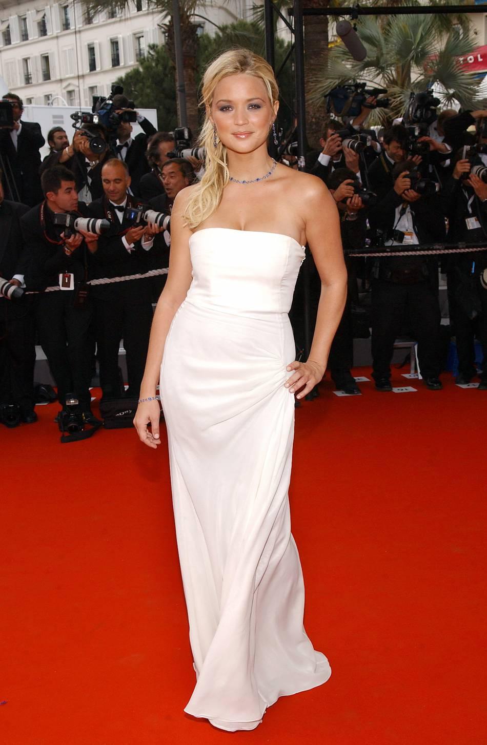 Virginie Efira lors du Festivalde Cannes en 2006.