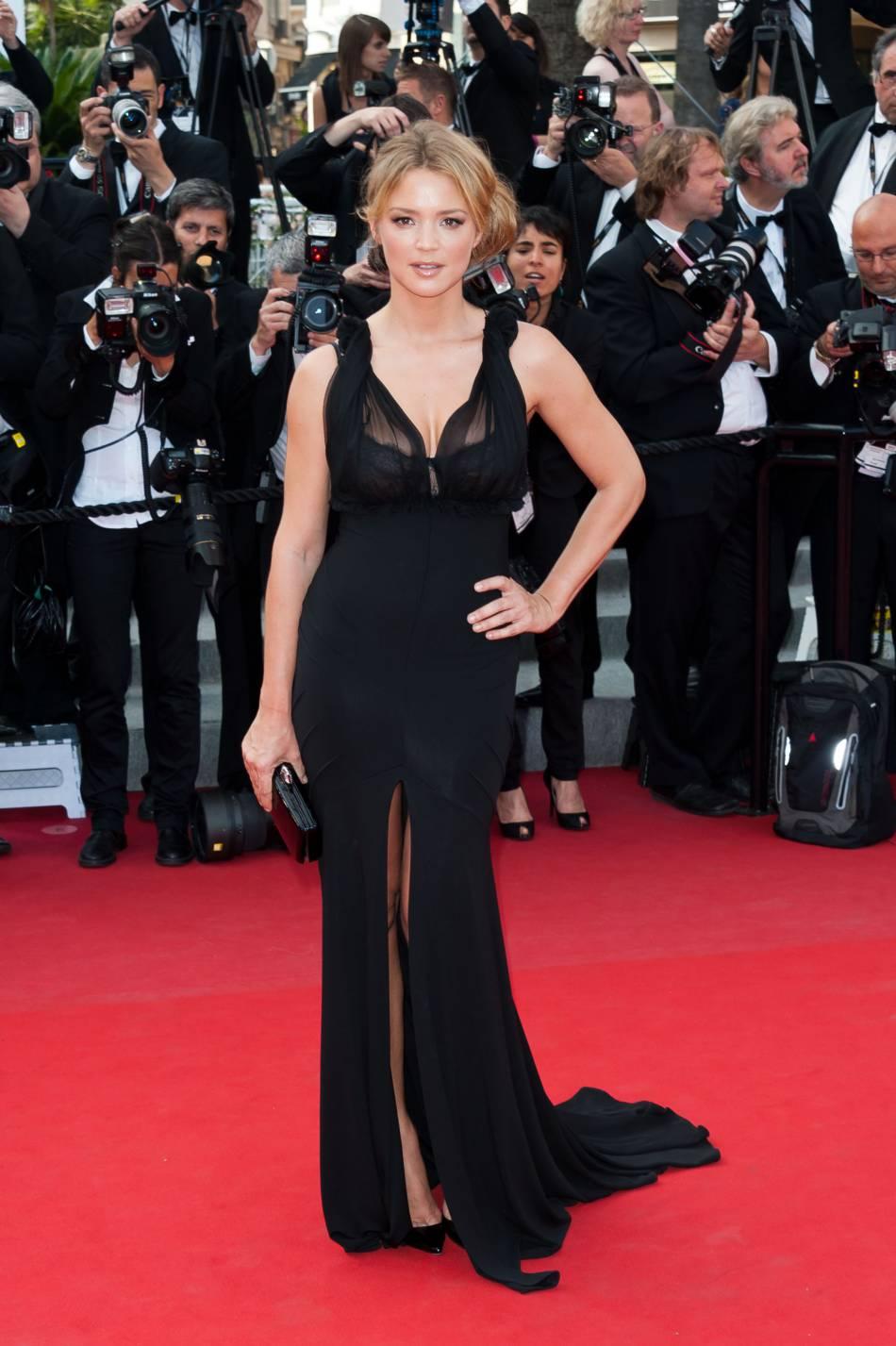 Virginie Efira affolait le tapis rouge lors du festival de Cannes en 2012.